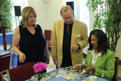 Book launch signing with Joanne and Tony