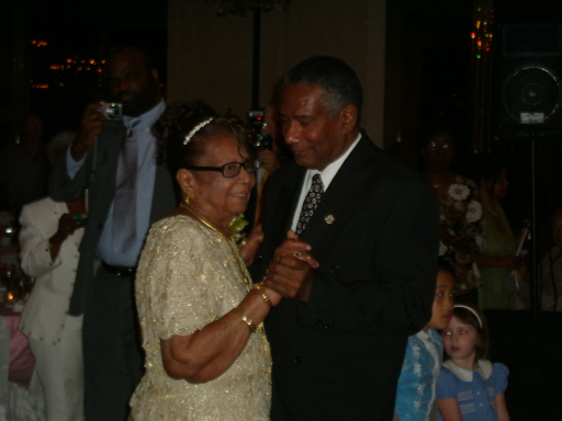 Aunt Rose dancing with her son