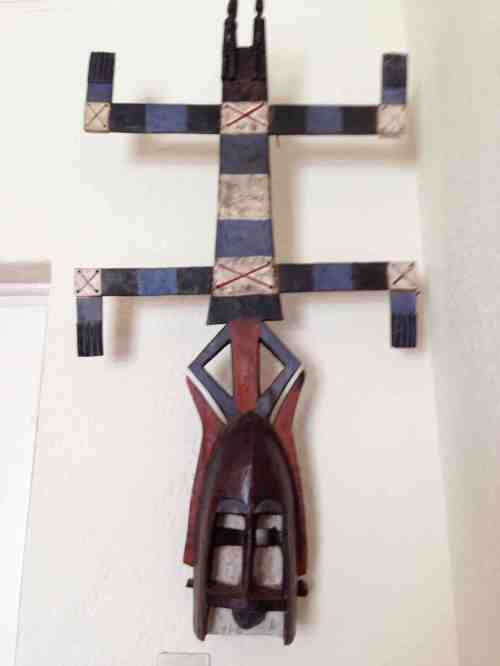 Blog - African dogon mask