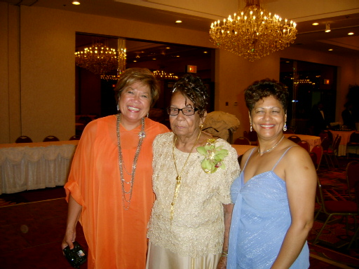 Aunt Rose, centre, with nieces