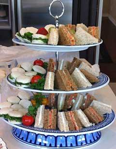 Sandwich Tier - Simply Splendid Victorian Afternoon Teas