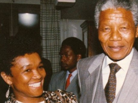 Blog - Sylvia and Nelson Mandela