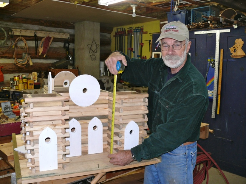 Blog Photo - Jean building complex birdhouse