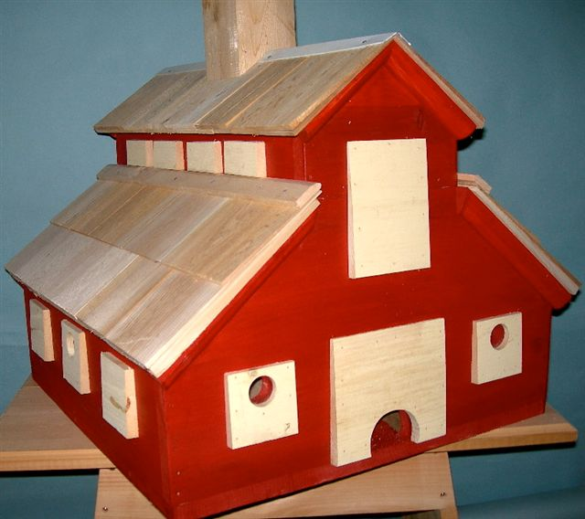 Blog Photo - Red Barn Birdhouse