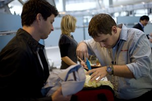 Blog Photo - Security check Israel airport