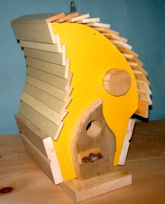 Blog Photo - Yellow Birdhouse