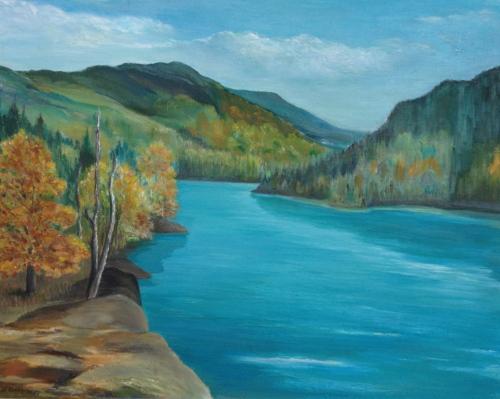 Blog Photo - Gladys Painting 2