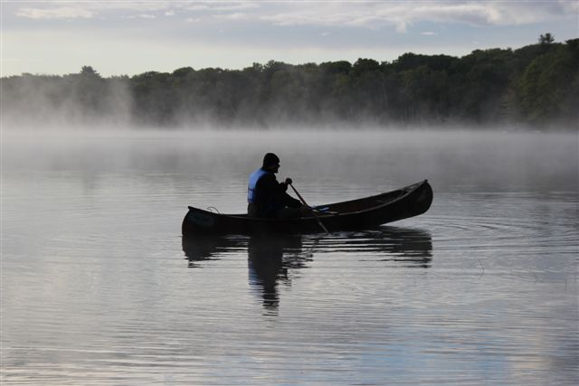 Canoeing on Sugar Lake - Photo by Hamlin Grange
