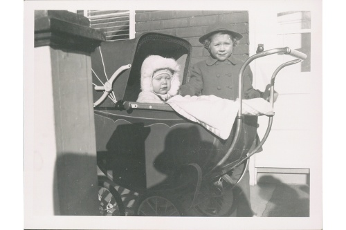 Blog Photo - Baby in pram and Heather