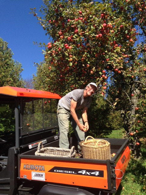 Blog Photo - Chris Apple Picking