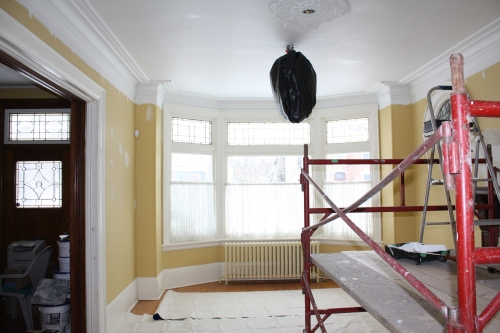 Blog Photo - John Yellow Room and Scaffold