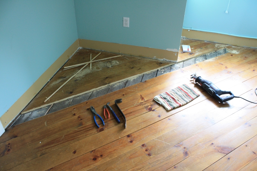Blog Photo - John's third floor - new floors in progress