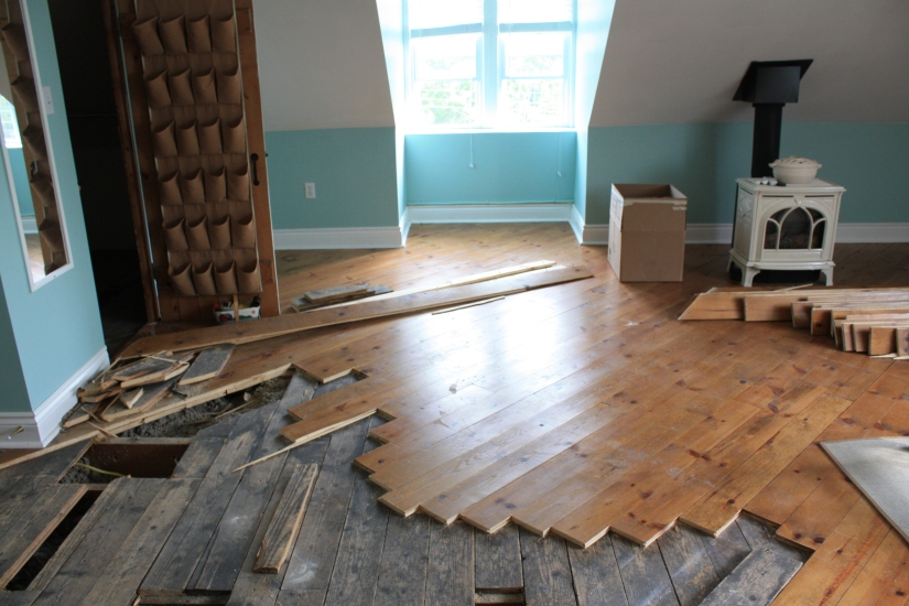 Blog Photo - New Floors in progress wide shot