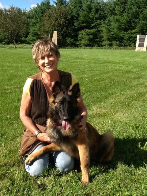 Blog Photo - Val and Doggie