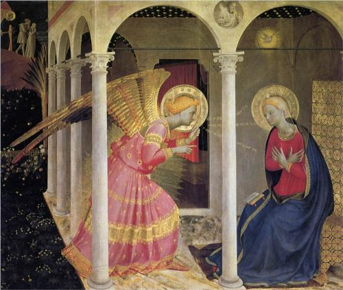 """Fra Angelico's """"Annunciation"""""""