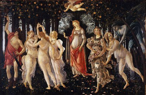 """Boticelli's """"La Primavera"""""""