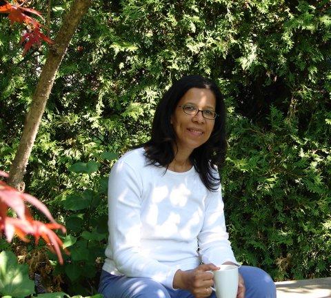Blog Photo - Mama's Garden - CR and mug of coffee
