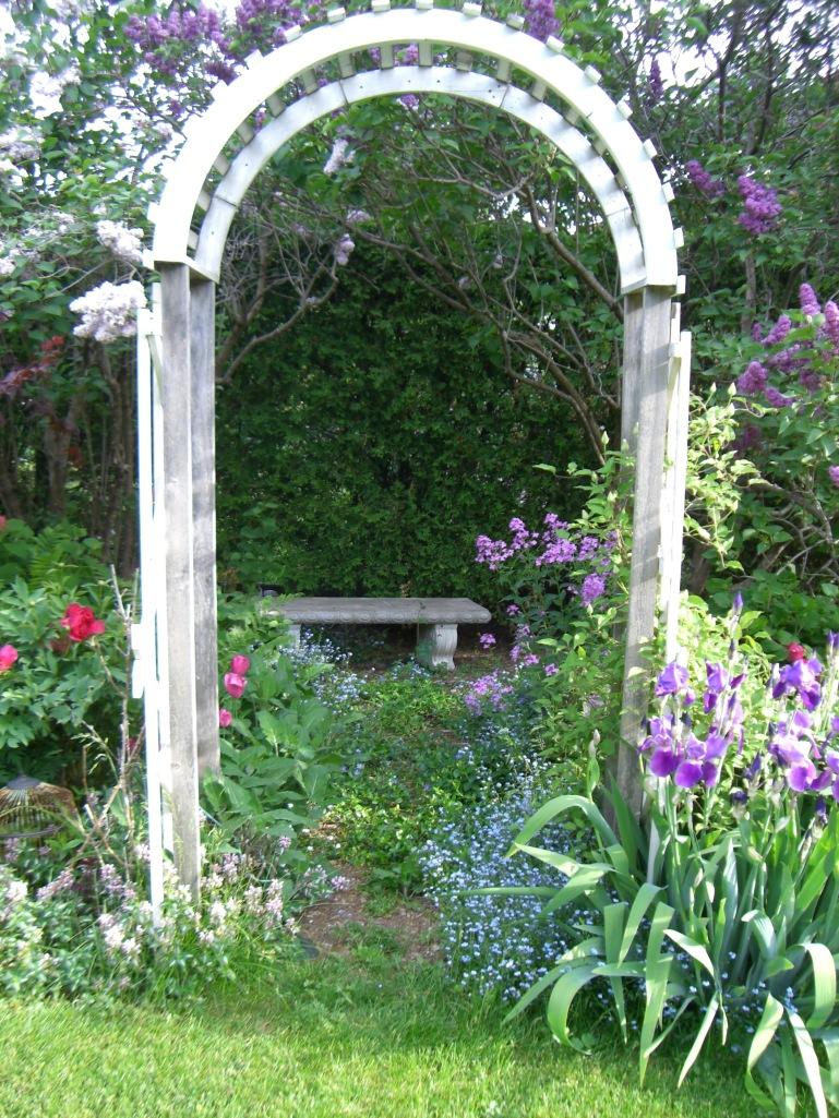 Blog Photo - Mama's Garden front arbor