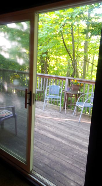 Blog Photo - Back Deck and Chairs