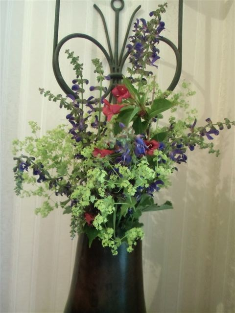 Blog Photo - flowers in Brown Vase closer
