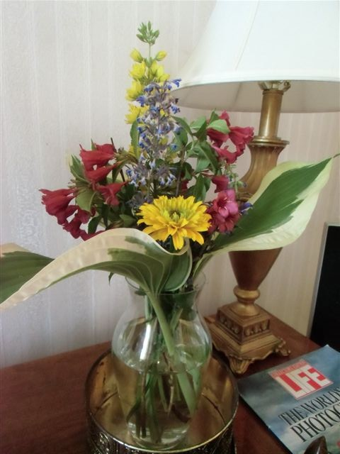 Blog Photo - Flowers in vase nice