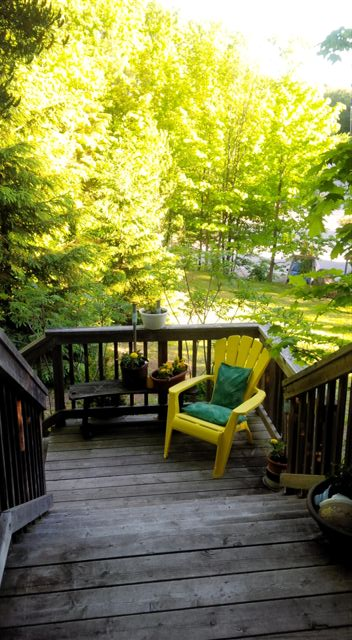 Blog Photo - Front Deck and Chair
