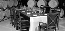 Blog Photo - Klaus story wine tastings among barrels