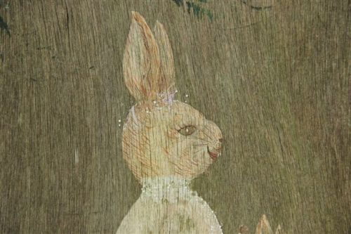 Blog Photo - Rabbit Painting CU of Rabbit Face