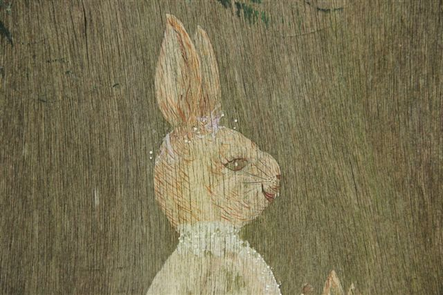 Blog Photo - Rabbit Painting CU of Rabbit Face
