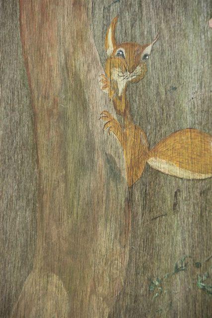 Blog Photo - Rabbit Painting Squirrel