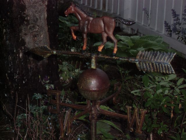 Blog Photo - Rainy Horse Weathervane