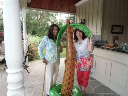 Blog Photo - Book Club Under Cocunut tree