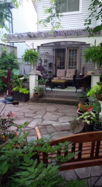 Blog Photo - Gail's Garden back porch view 2