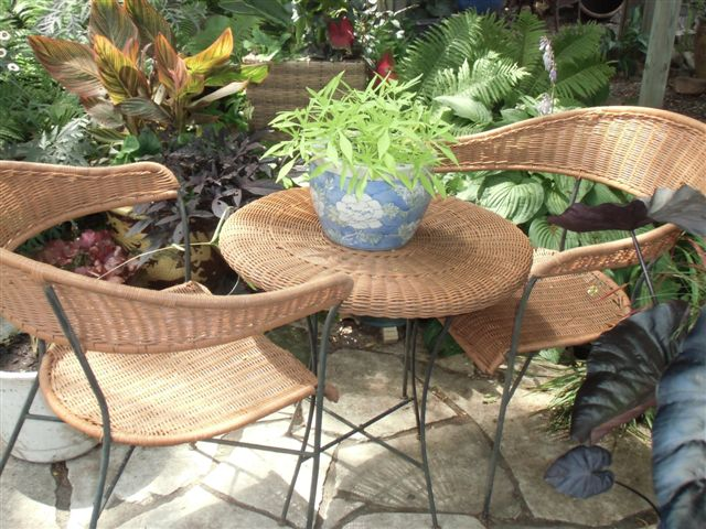 Blog Photo - Gail's Garden table and chairs