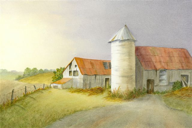 Blog Photo - Muriel Paintings - Barn