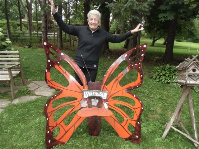 Blog Photo - Artist Sandra and Chair