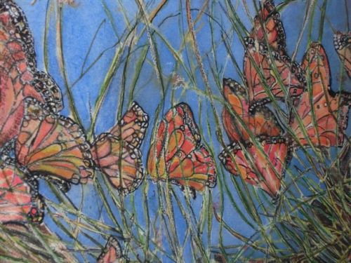 Blog Photo - Artist Sandra Butterflies CU