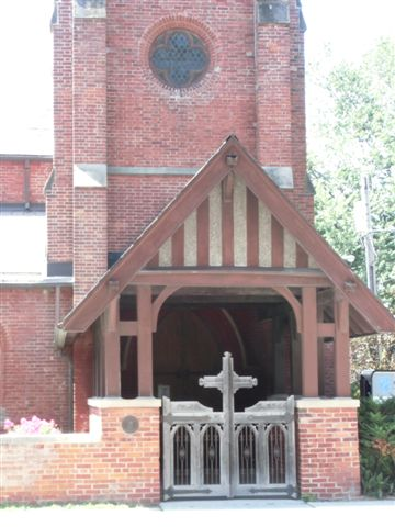 Blog Photo - Ebor House and Church Entrance