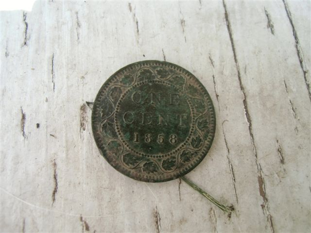 Blog Photo - Ebor House Canadian penny 1858