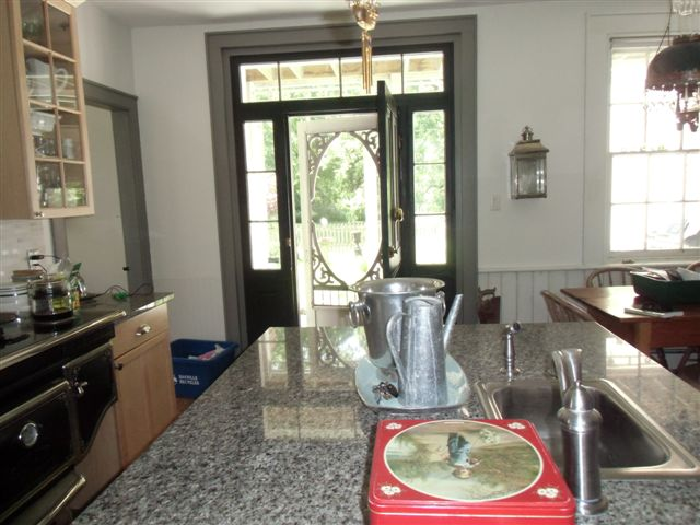 Blog Photo - Ebor House Kitchen and side door