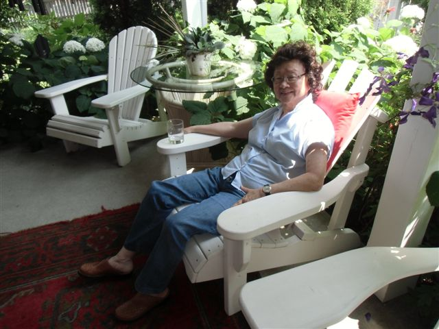 Blog Photo - Jacqui on verandah