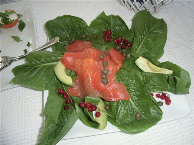 Blog Photo - Verandah - Salmon and lettuce