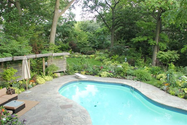 Blog Photo - Mary's Garden Pool and Grounds