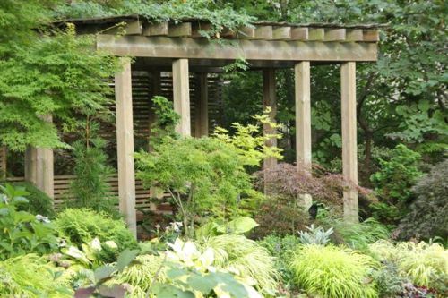 Blog Photo - Mary's Garden structure 1