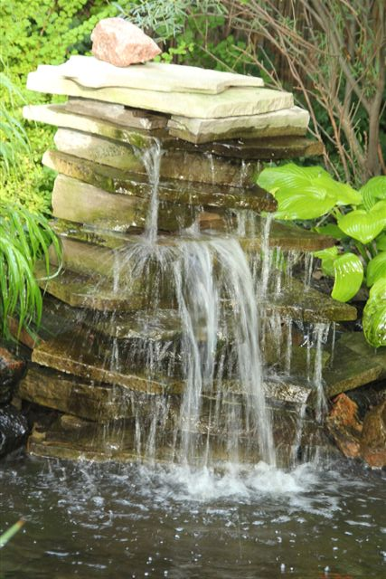 Blog Photo - Mary's Garden Waterfall 2