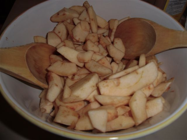 Blog Photo - Kitchen Apple slices