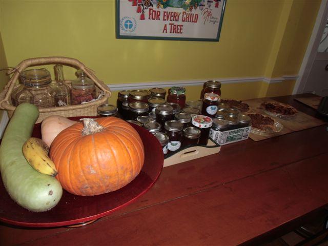 Blog Photo - Kitchen harvest table