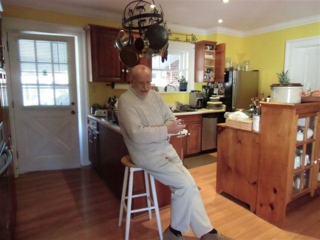 Blog Photo - Kitchen messy friend smiles