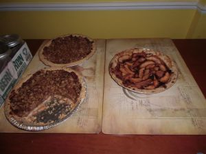 Blog Photo - Kitchen Pies on Table