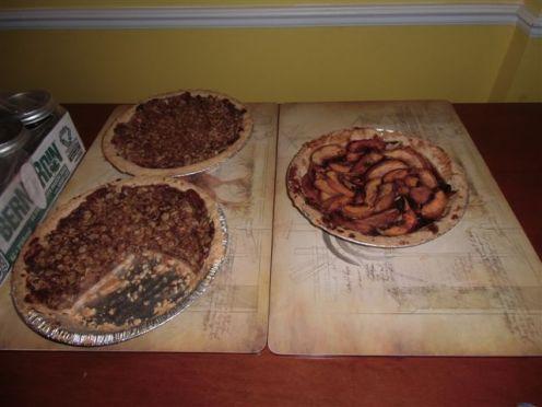 Blog Photo - Kitchen Pies on Table